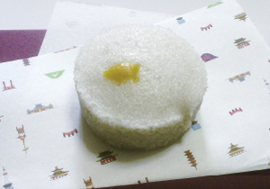 米粉レシピ 薯蕷(じょうよ)蒸し柚子風味の写真