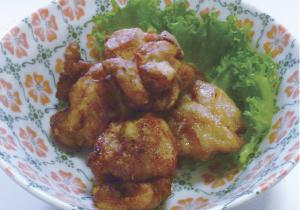 米粉レシプ 鶏のから揚げの写真